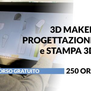 3D Maker-Introduzione al mondo 3D