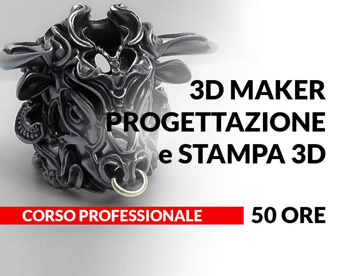 3D Maker-Progettazione e Stampa 3D