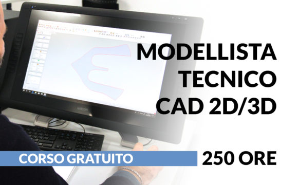 Modellista Tecnico CAD 2D-3D